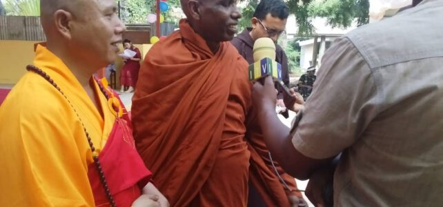Meditación Guiada en el MUSEO de Nerja 20 de octubre 2019 con Rev Dr ILukpitiye Pannasekara Thero