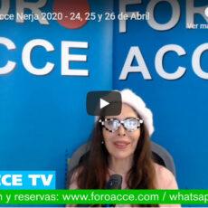 XXII Foro Acce Nerja 2020 presentado por Ana Francisca García Trelles